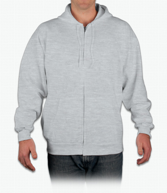 Hanes Ultimate Cotton Zip Hood