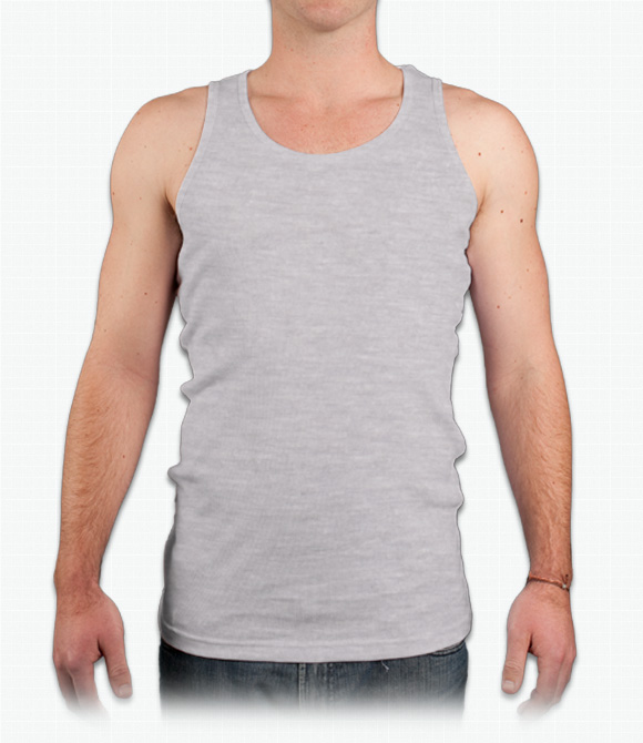 Canvas Mens Rib Tank