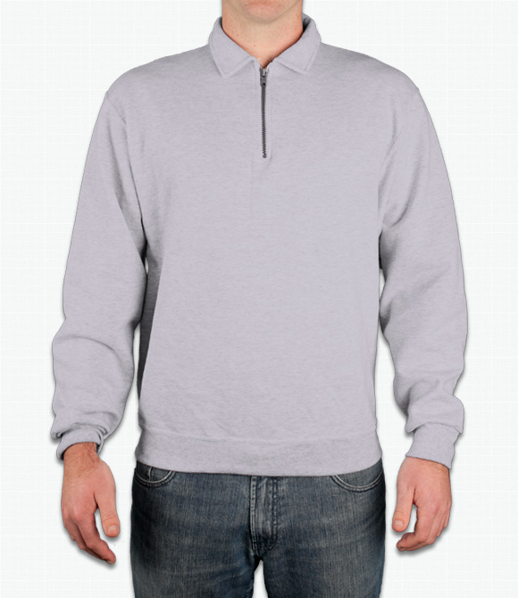 Jerzees Quarter-Zip Sweater